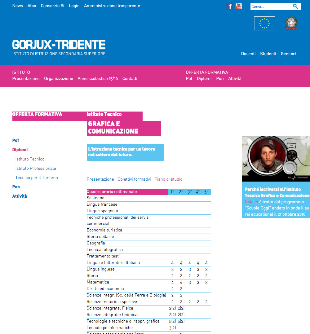 Gorjux Offerta Didattica Sito